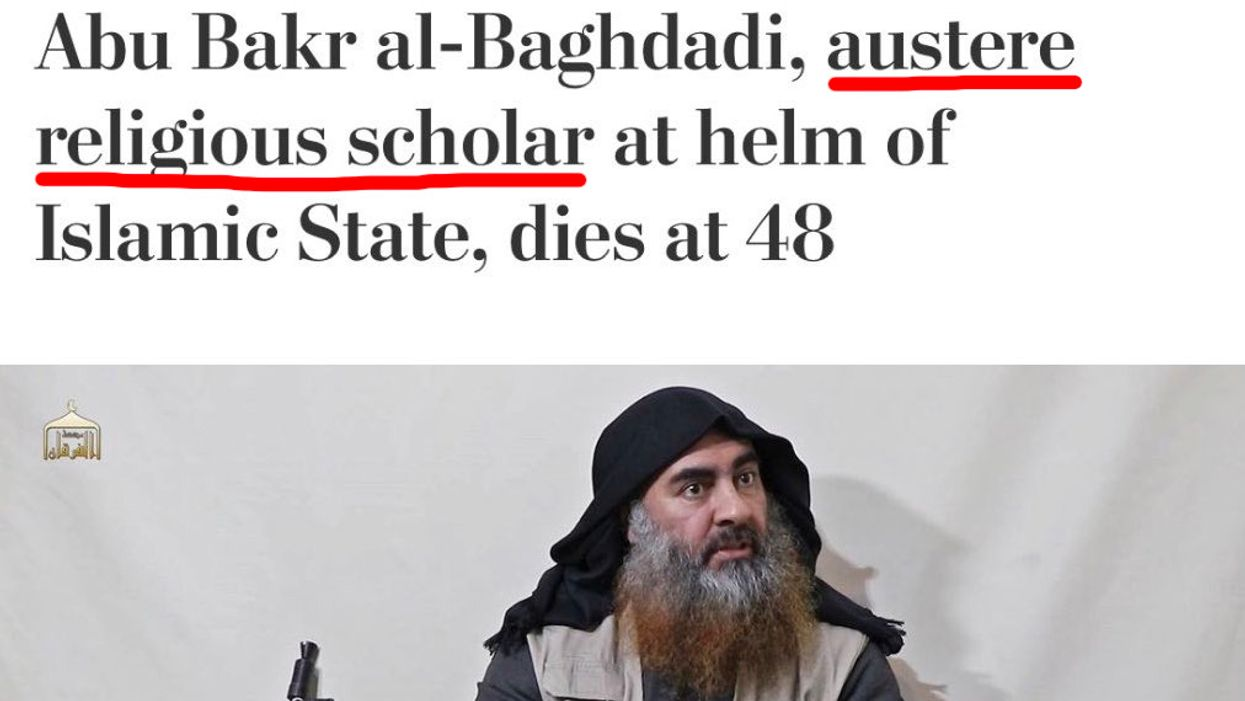 Washington Post gets mercilessly mocked after posting al-Baghdadi obituary with glowing headline