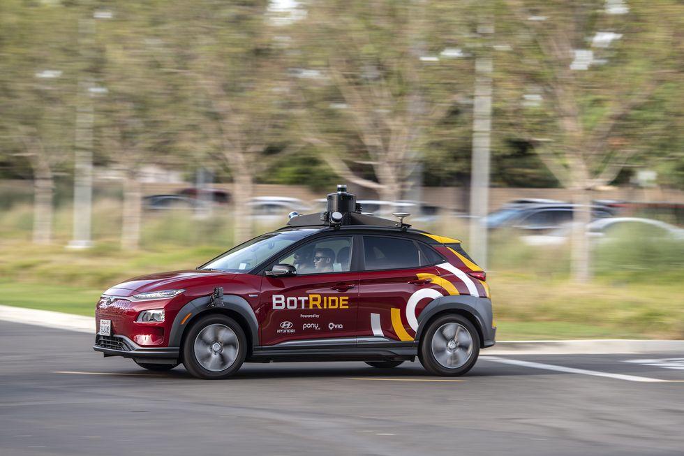 BotRide autonomous Kona EV