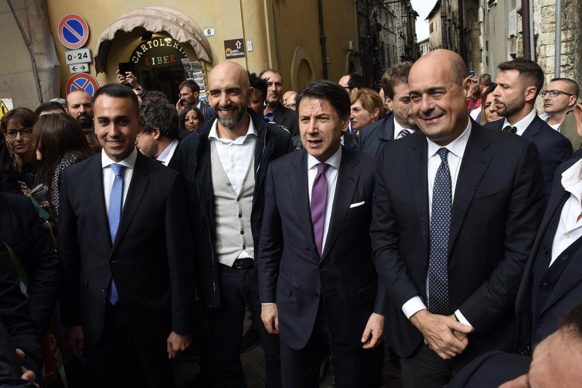 L'Umbria seppellisce l'inciucio giallorosso