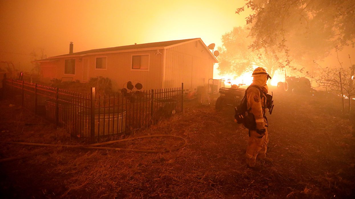 California Governor Declares Statewide Emergency as 180,000 Flee Kincade Fire