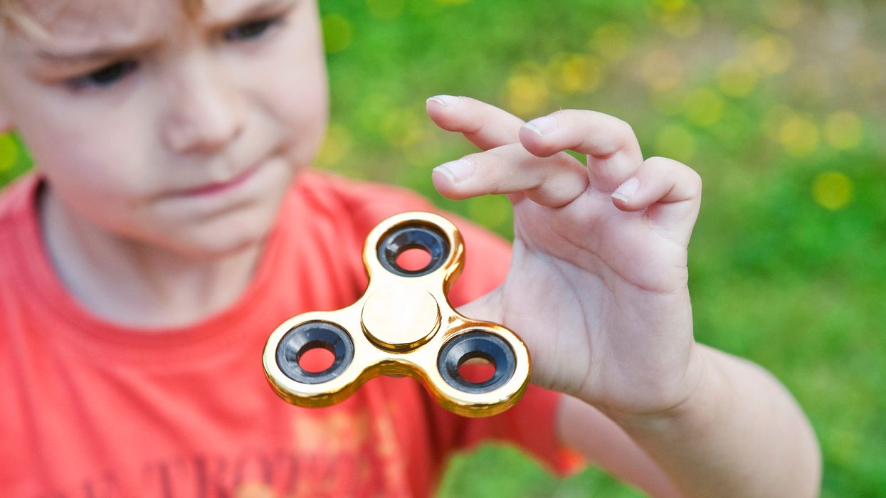 fidget spinners may make it harder to learn
