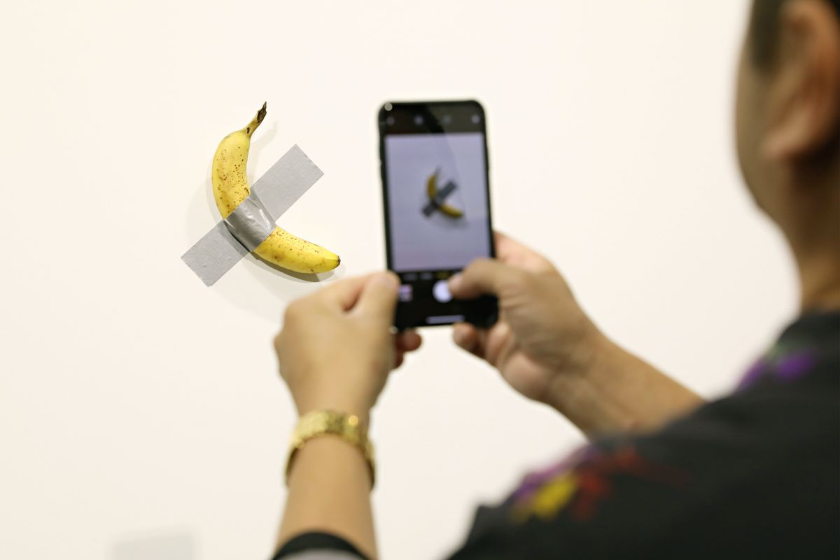 This Banana Duct-Taped to a Wall Sold for $120,000