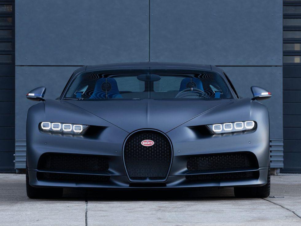 Bugatti Chiron 110 ANS front