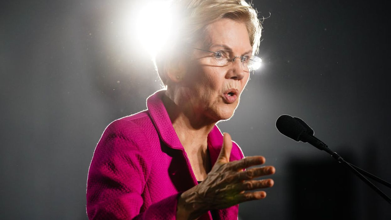 VIDEO: Voter confronts Elizabeth Warren over her phony Native American ancestry claims