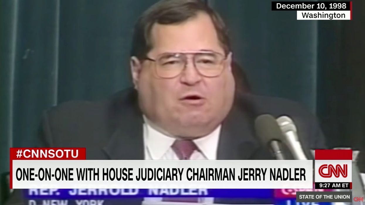 CNN host confronts Jerry Nadler over impeachment, exposes his partisan hypocrisy