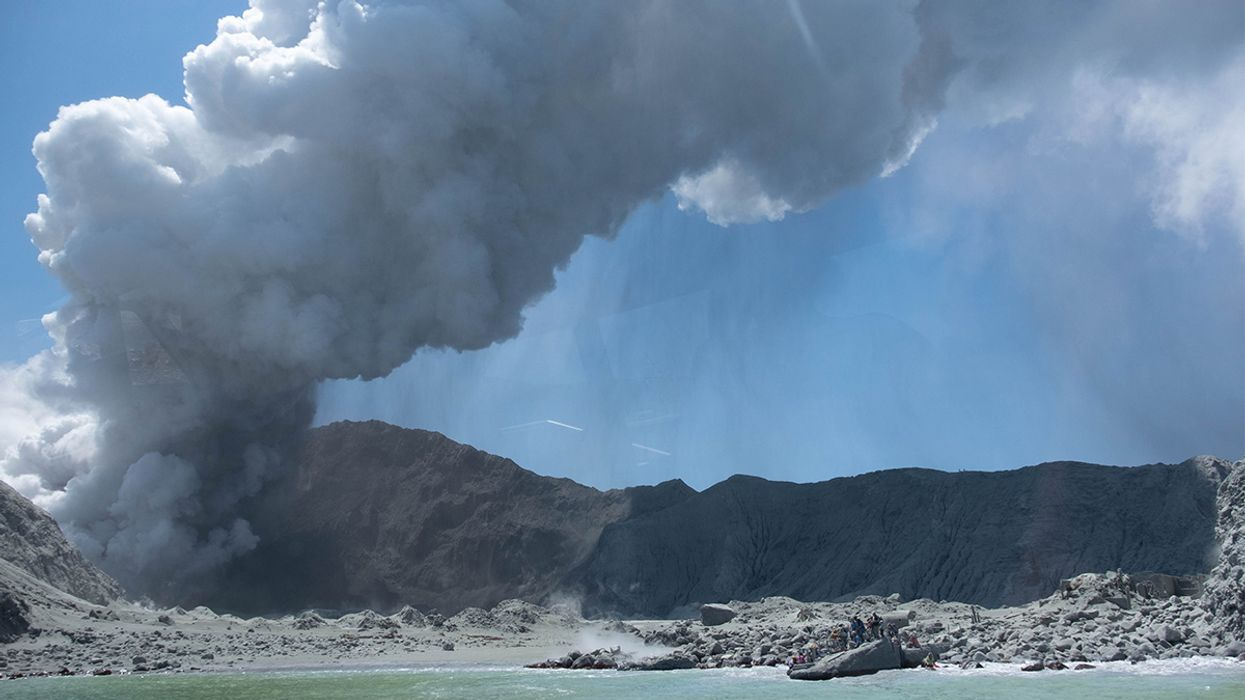 New Zealand Volcano Erupts, Five Dead, at Least 10 Still Missing, No Signs of Life