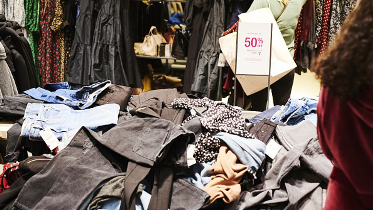 Fashion contributes to 10 percent of humanity's carbon emissions