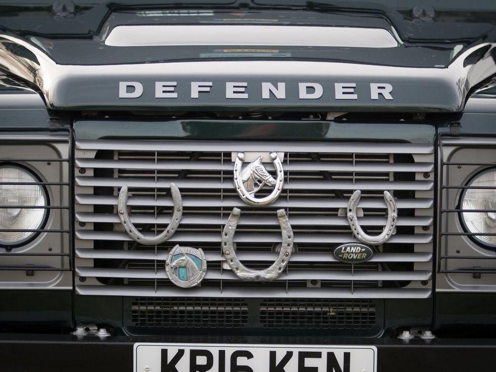 Land Rover Defender Chepstow Racecourse
