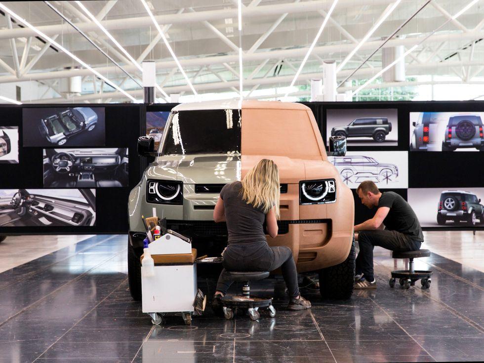 Land Rover Defender 2020 design stage