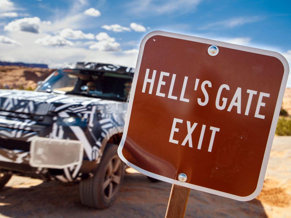 2020 Land Rover Defender Hell's Gate Moab Utah
