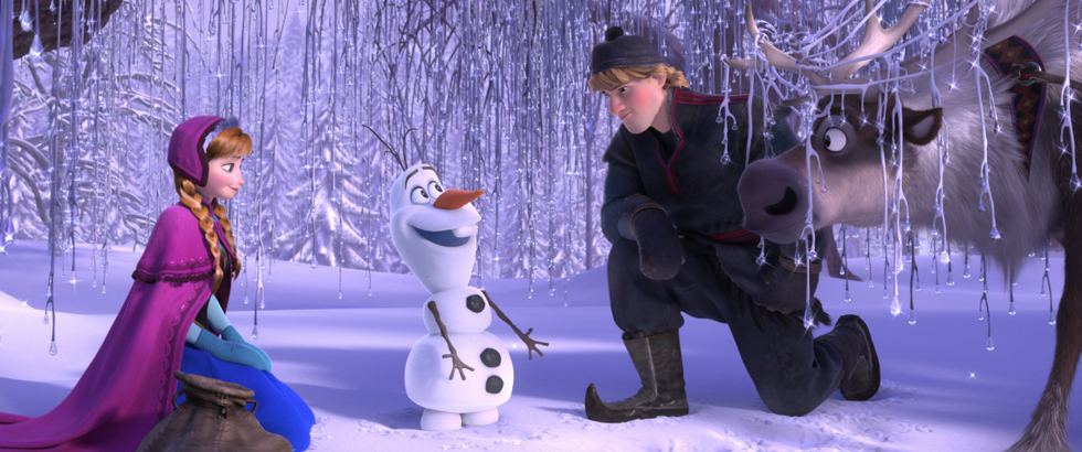 """If You Really Think Olaf Is 5'4"""" Tall, Your Brain Must Be Frozen"""