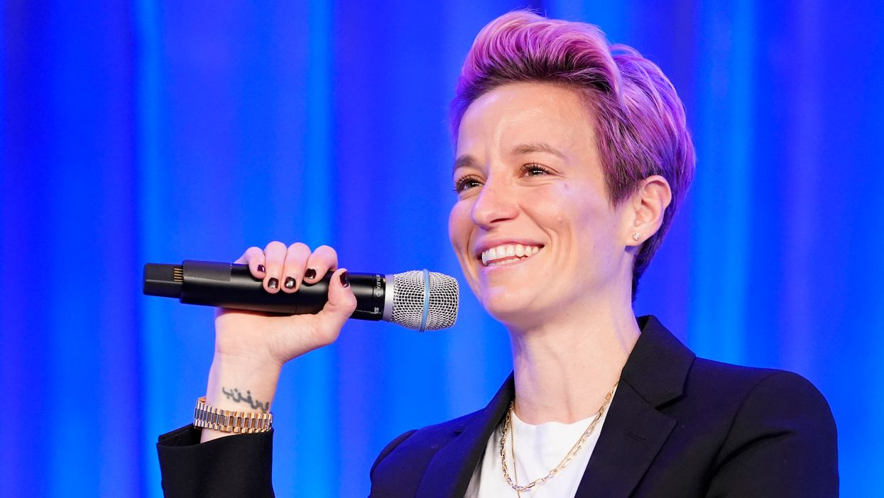 US Soccer star Megan Rapinoe named Sports Illustrated's Sportsperson of the Year