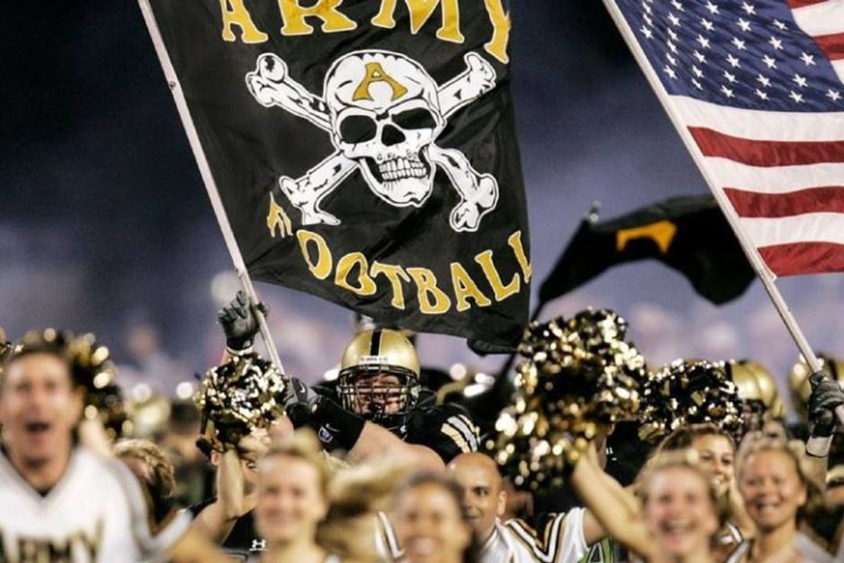 The Army's football program ditched a team motto after learning it's used by white supremacists