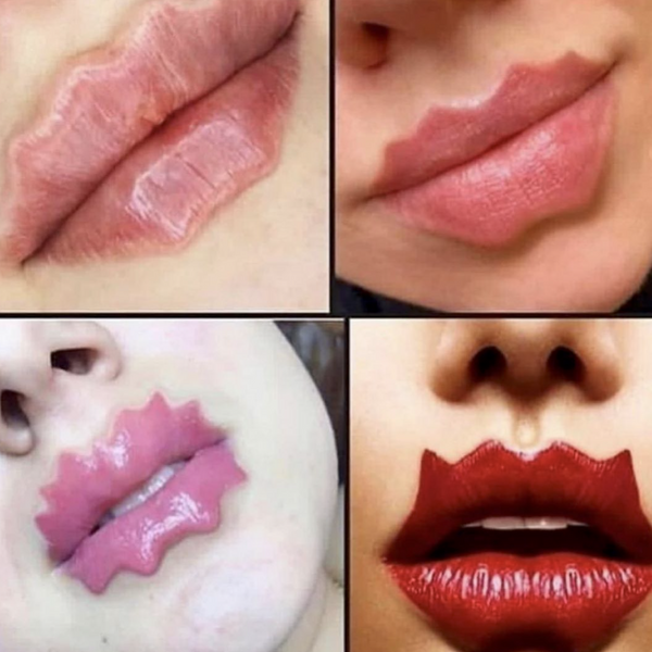 Russia's 'Devil Lips' Beauty Trend Is Going Viral