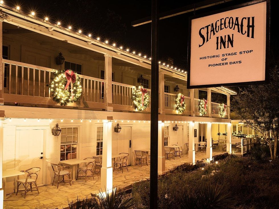 Stagecoach Inn Christmas