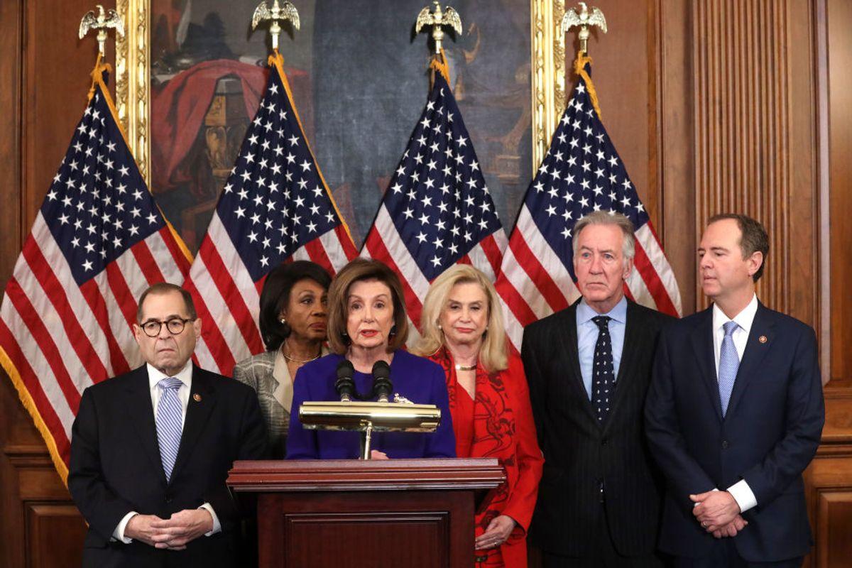 Democrats Announce Articles of Impeachment Against Trump