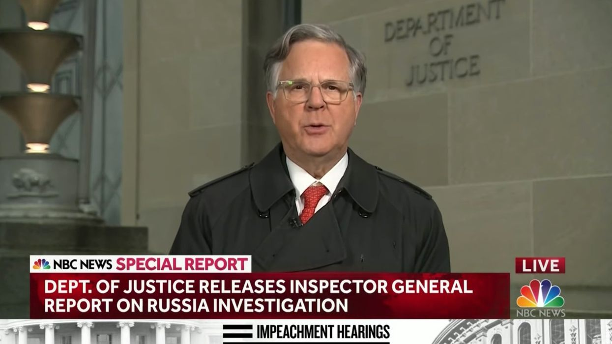NBC's Pete Williams reports that IG Horowitz is opening new investigation: 'Screwed up at every level'