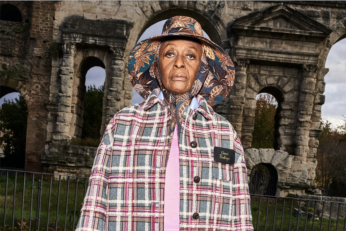 Activist Legend Bethann Hardison Stars in New Gucci Lookbook
