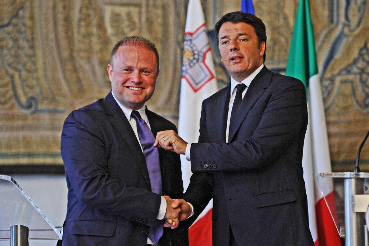 Amicizie pericolose del Bullo a Malta e l'affaire gasdotto