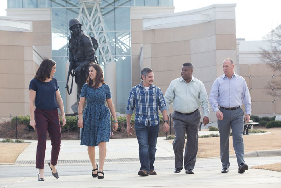 Booz Allen has mission-based work that makes it a good fit for  for veterans, members of the National Guard and Reserve and military spouses.