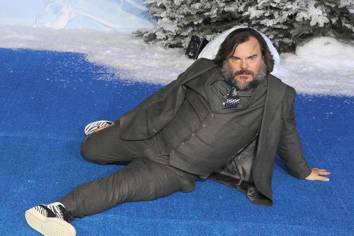 Watch Jack Black Forget He Was in 'The Holiday'