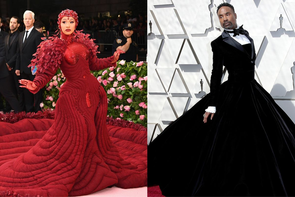 Cardi B and Billy Porter Dominated 2019 Red Carpet Searches