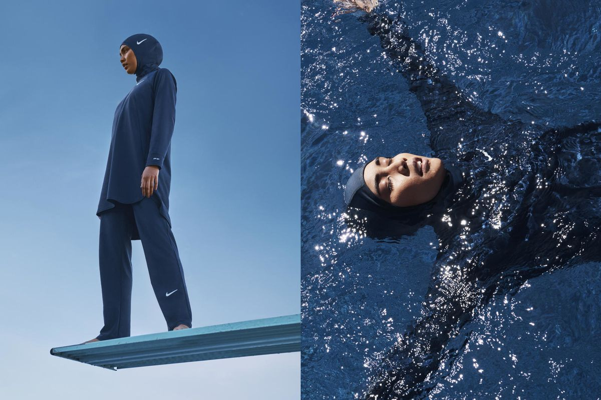 Nike is coming out with a 'modest' swimwear line which even includes a swim hijab