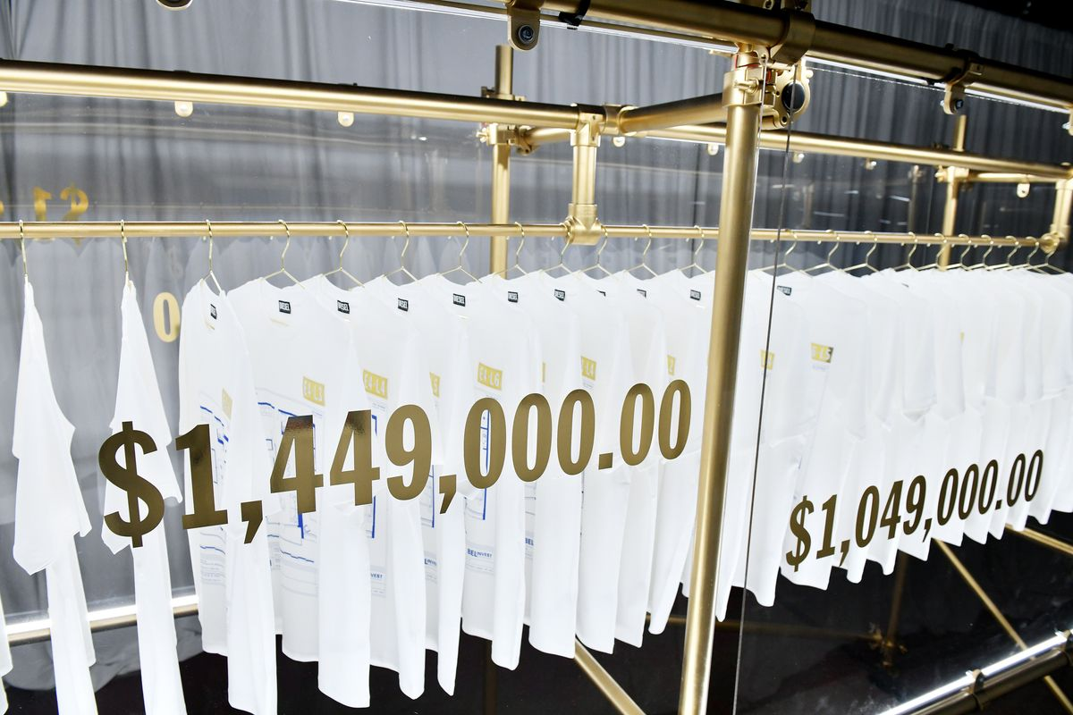 Behold the World's Most Expensive T-Shirts