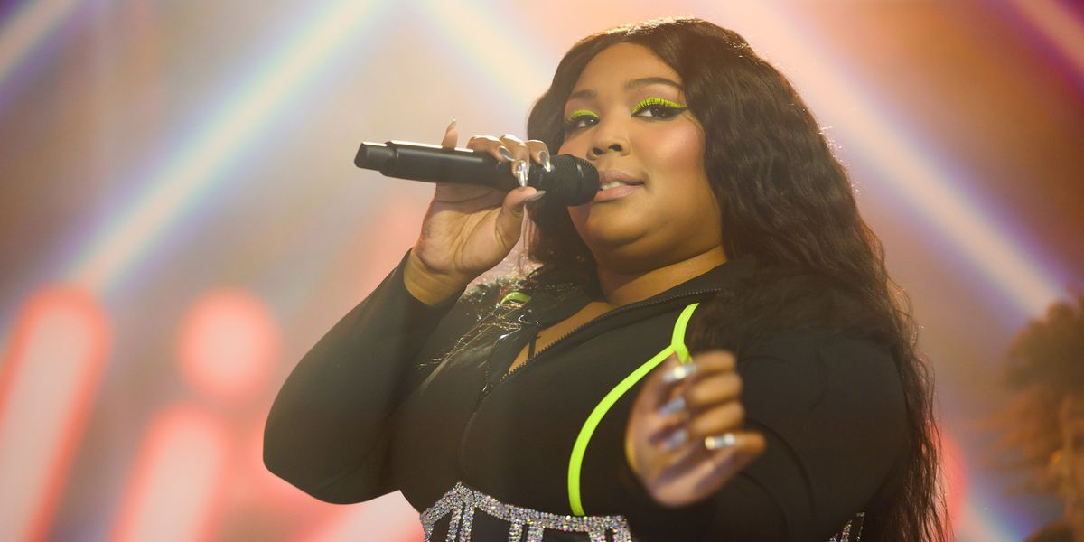 Lizzo Said She'd Like to Do a 'Special Naked Performance'