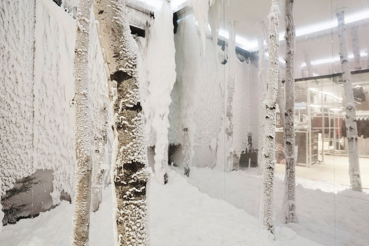 Step Inside This Ice-Cold, Indoor Blizzard Simulator