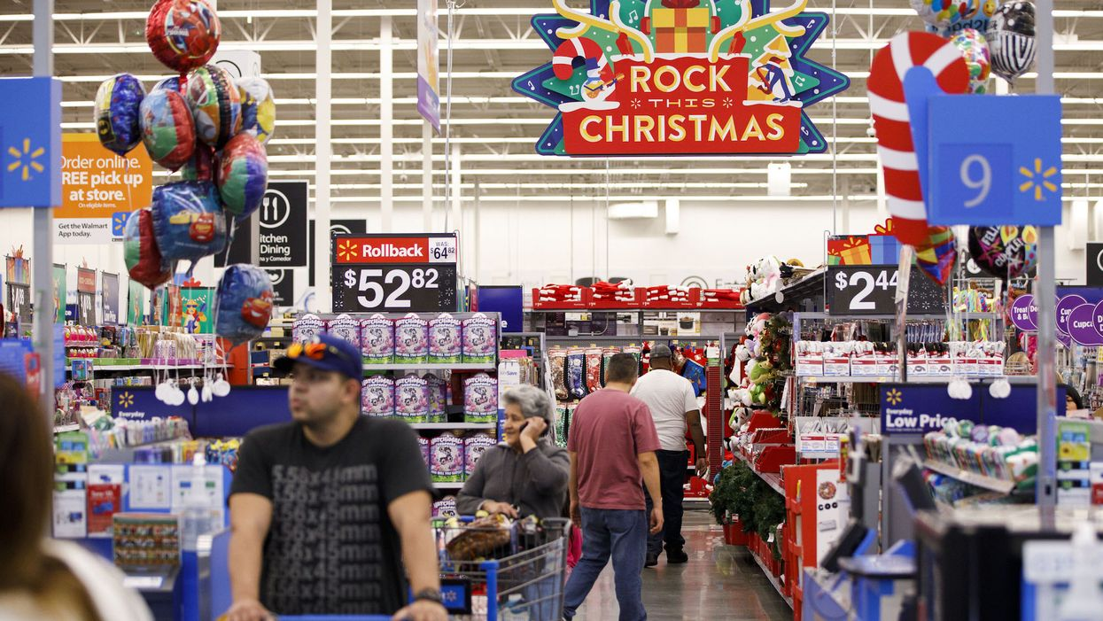 A 'secret Santa' anonymously paid off $65,000 in layaway accounts at Walmart, and left a 7-word note for recipients