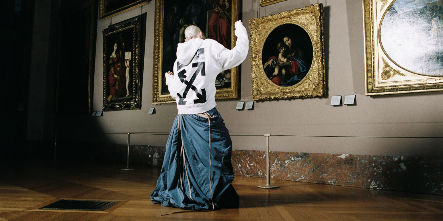 Virgil Abloh's Newest Collaboration Is With The Louvre