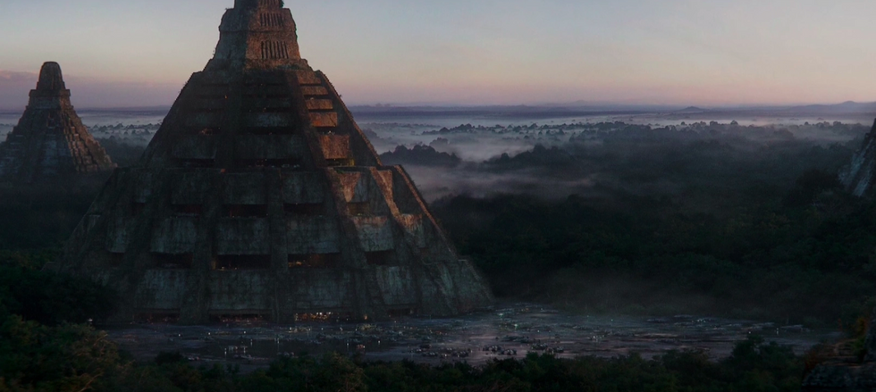 Great Temple Star Wars