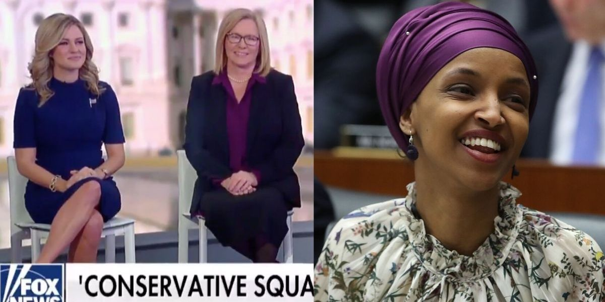 Ilhan Omar Zings 'Conservative Squad' Of Women Running For Congress After Their Fox News Announcement