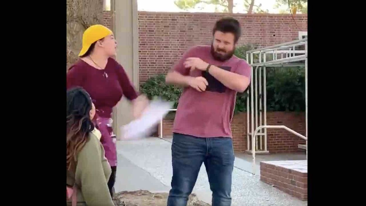 College faculty board blasts conservative student group despite documented examples of leftists assaulting, harassing conservatives on campus