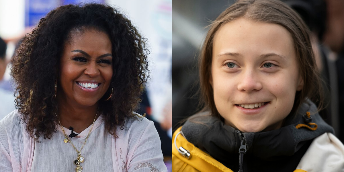 Michelle Obama Steps In To Offer Support To Greta Thunberg After Trump's Mean-Spirited Comments