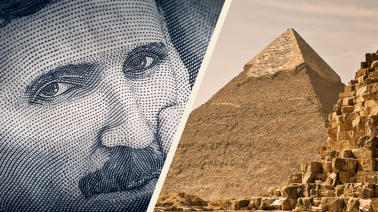 Why Nikola Tesla was obsessed with the Egyptian pyramids