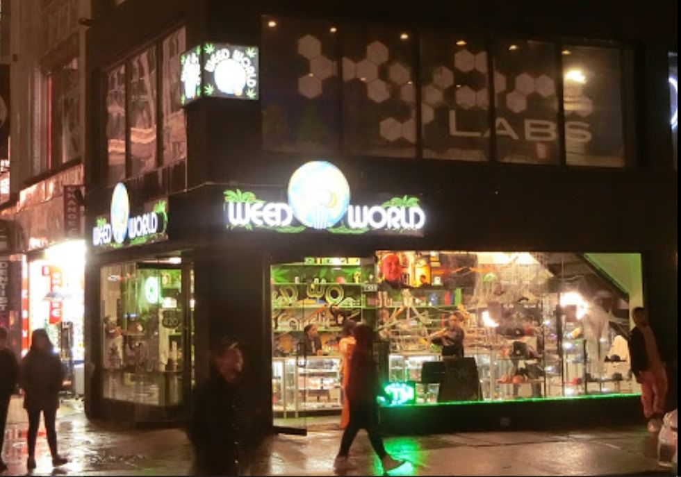 weed world store