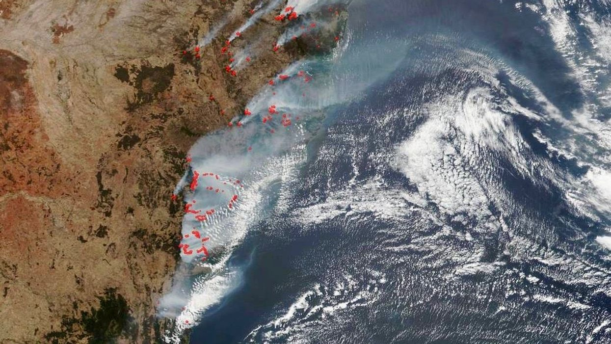 Australia's Fires Emitted Half of the Country's Annual CO2 Emissions