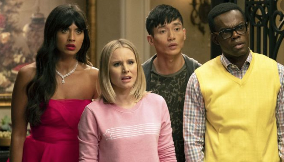 Finals Week As Told By 'The Good Place,' Even Though Everything Is NOT Fine