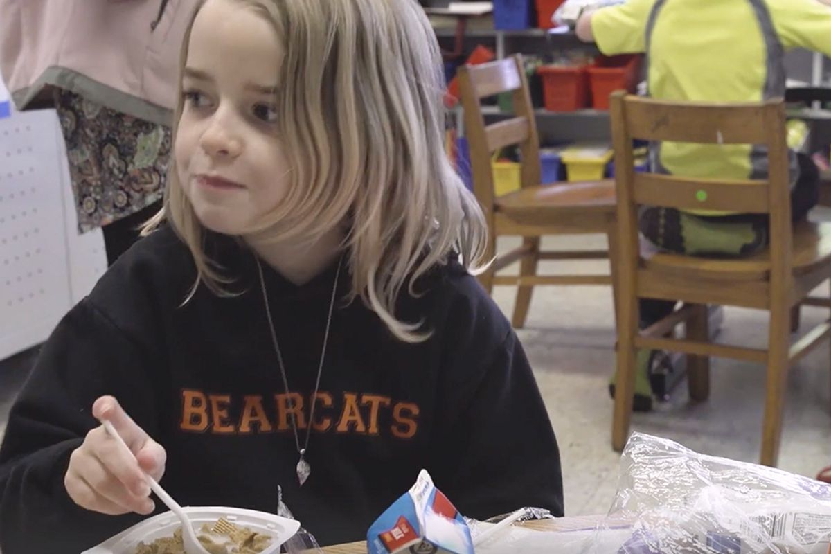 11 million children in the US live in food insecure homes, so this new partnership is helping bring meals to schools