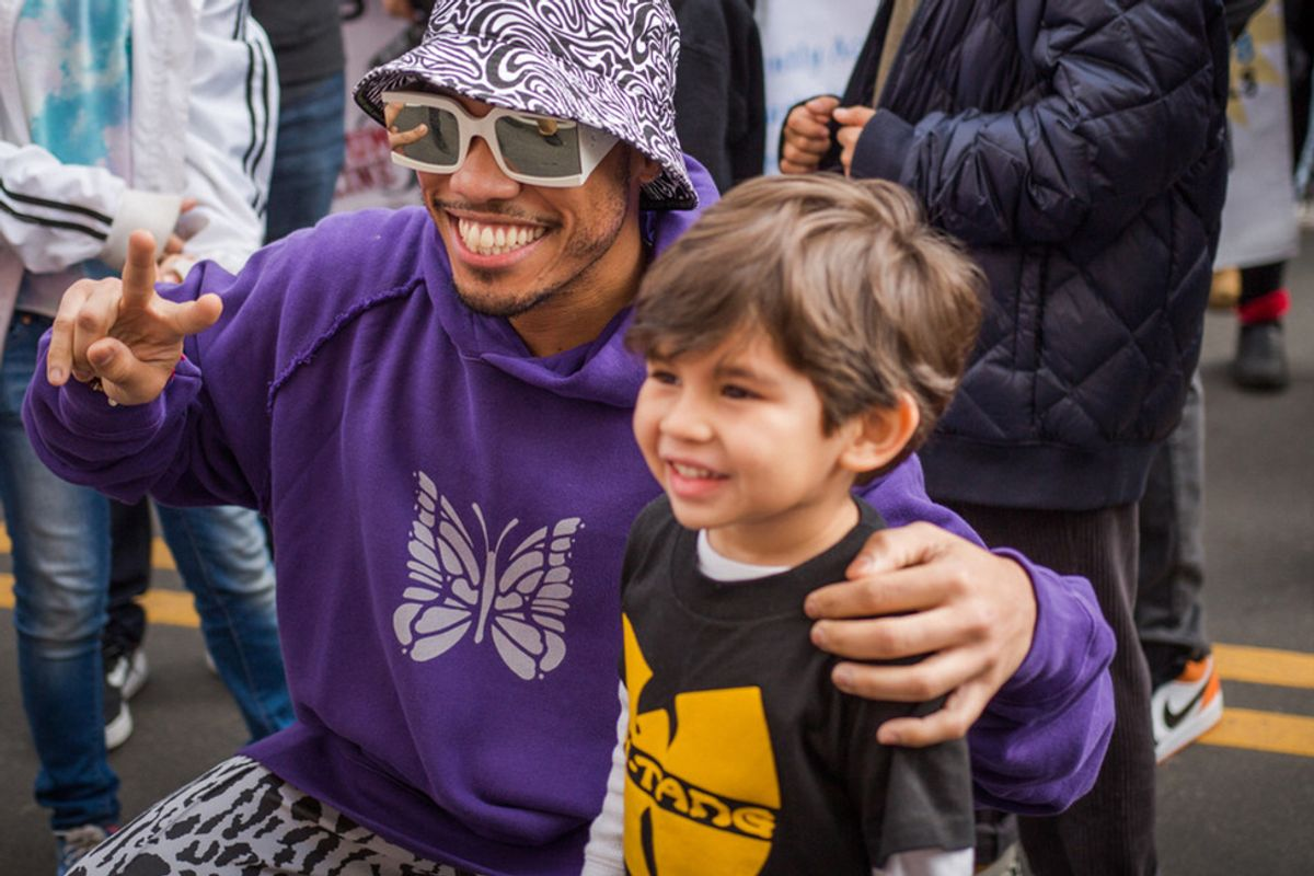 Musician Anderson .Paak hosts free community festival in LA to raise money for local nonprofit