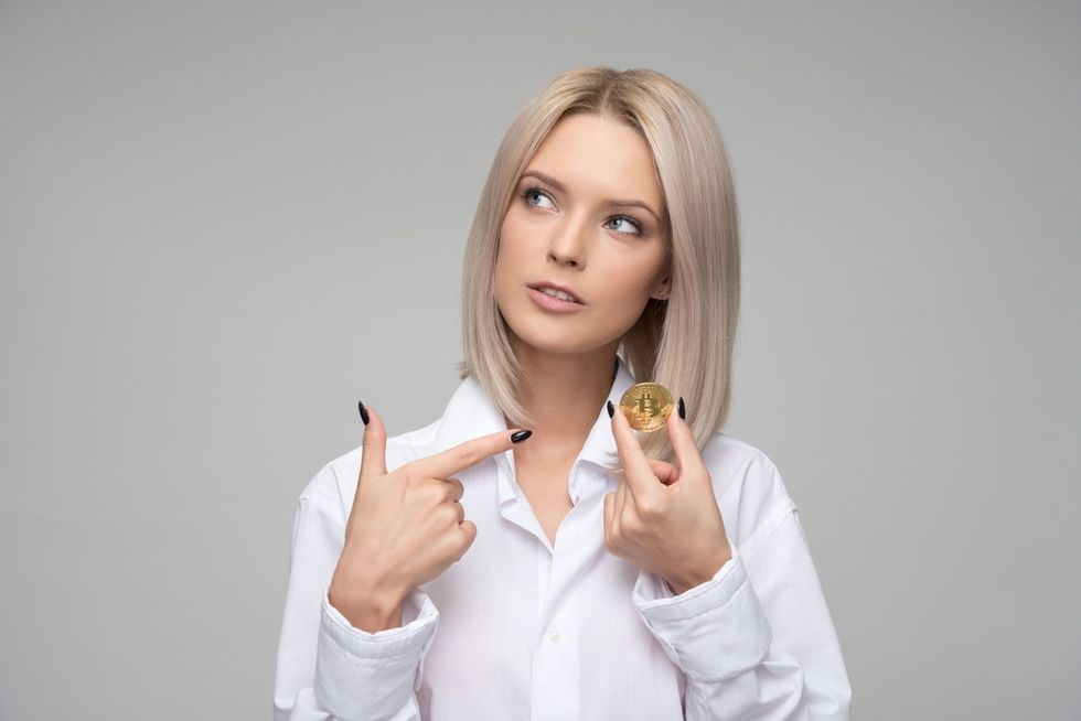 professional woman thinking about finances in her career