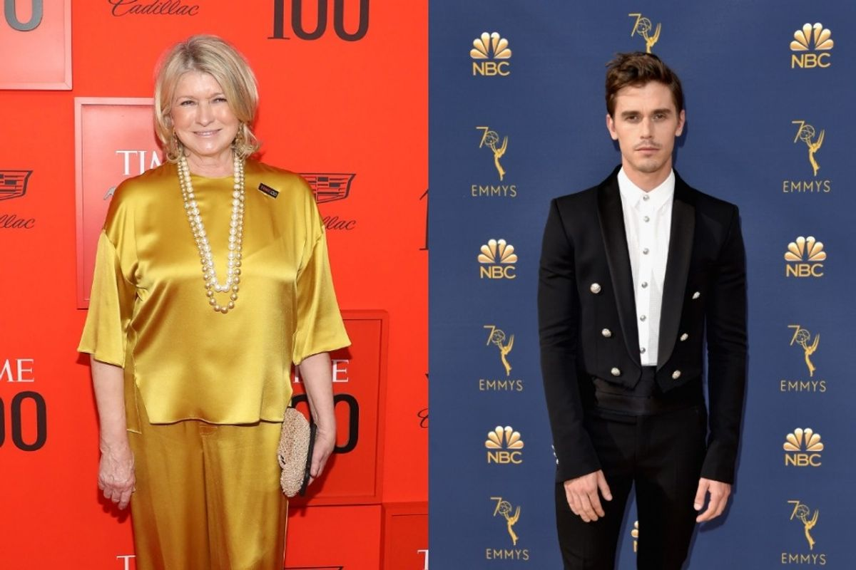 Martha Stewart Rightfully Calls Out Antoni Porowski for Not Tagging Her