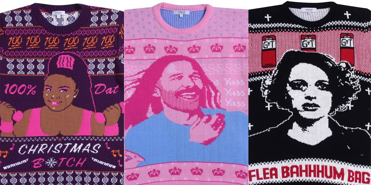 We Found the Perfect Pop Culture Holiday Sweaters