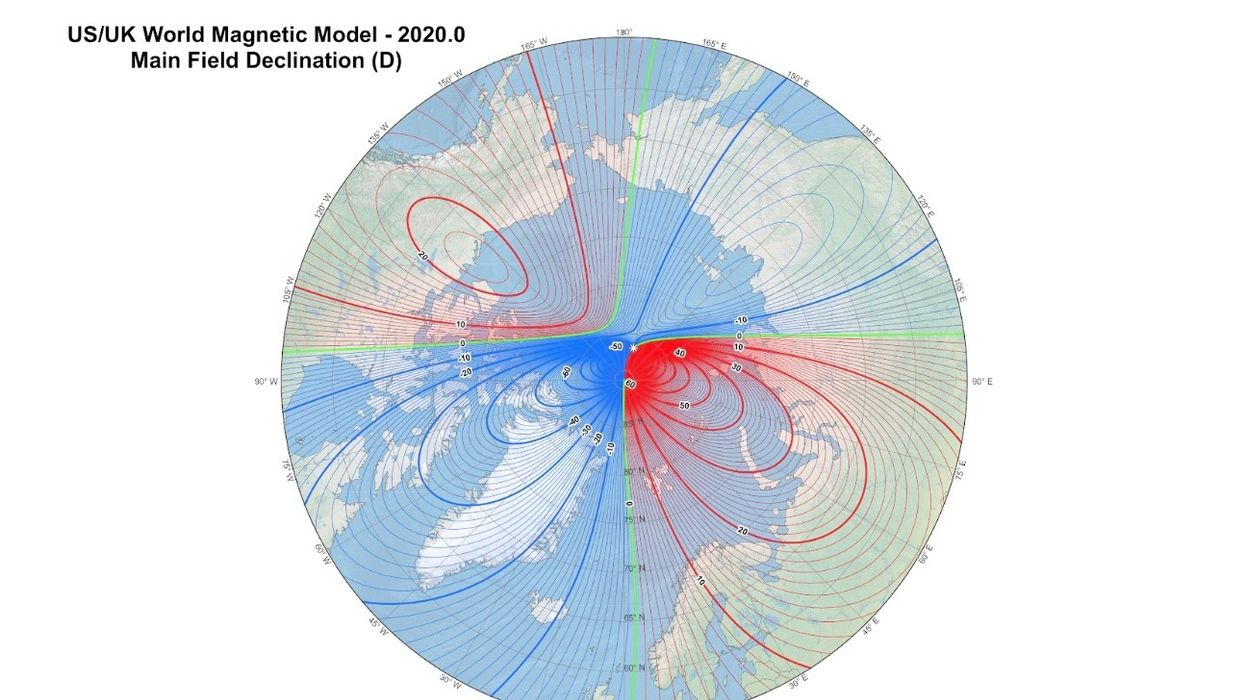 Magnetic North Pole Is Moving Toward Russia at a Swift Pace, Confounding Scientists