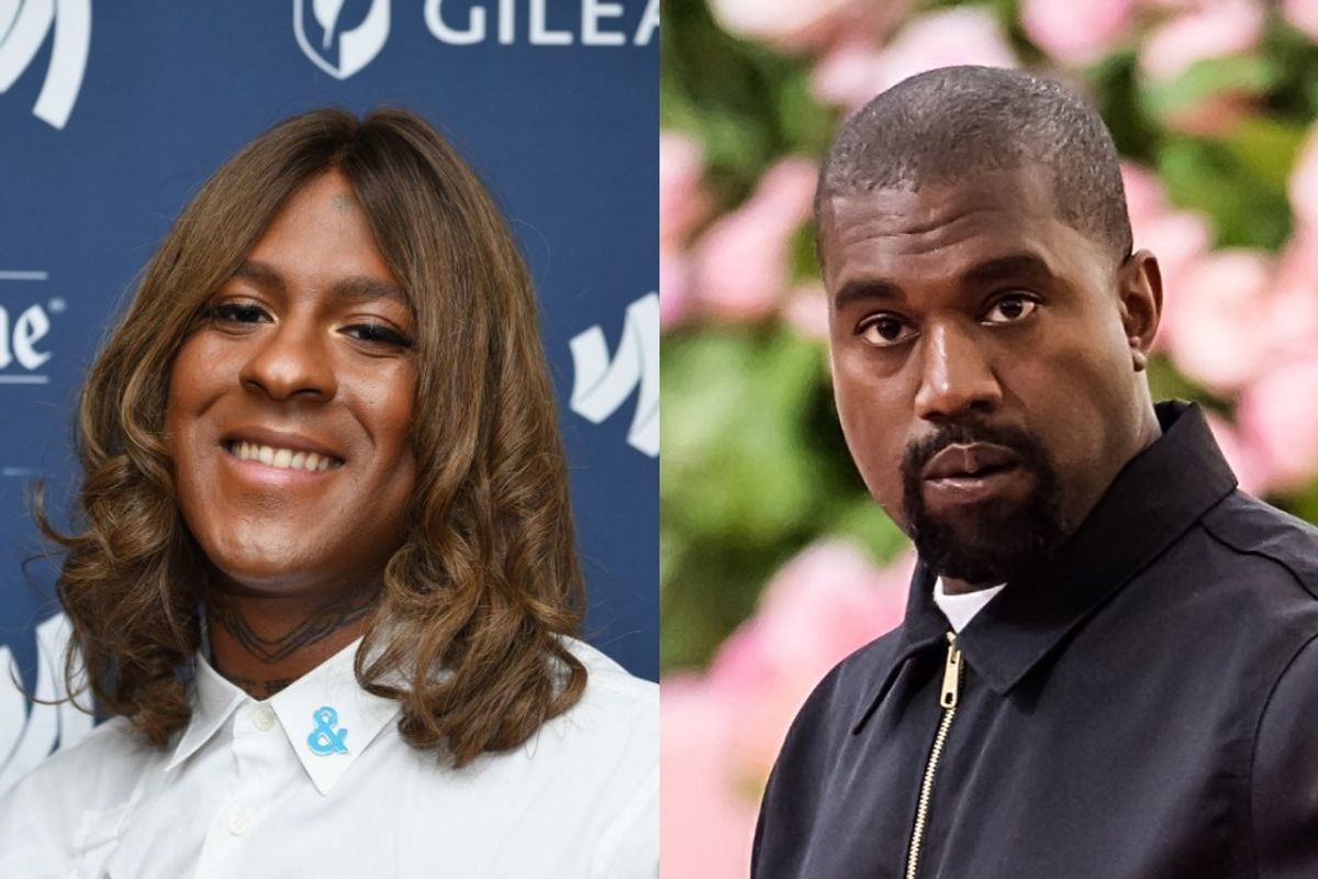 Hear a Scrapped Kanye West-Mykki Blanco Collab From 'Yandhi'