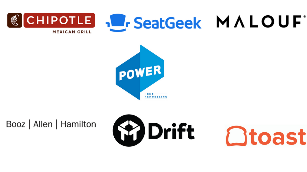There are some of the great companies that have already been featured through Work It Daily's Champion Badge program.