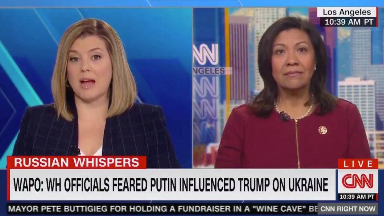 House Democrat floats wild conspiracy theory about President Trump and Russia that stuns CNN host
