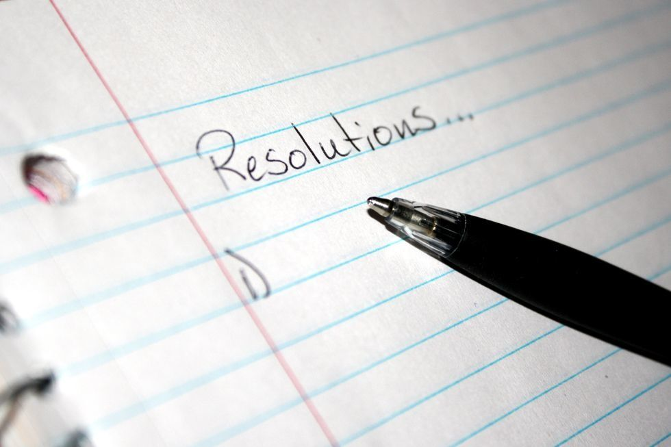 8 New Years Resolutions That Don't Have To Do With Numbers On A Scale